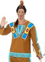 Costume guerrier indien Déguisement de cow-boy