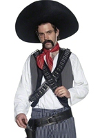 Costume de Bandit mexicain Déguisement de cow-boy