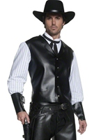 Costume Western Gunslinger Déguisement de cow-boy