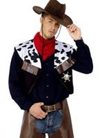 Cow-Boys Costume marron Déguisement de cow-boy