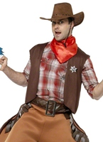 Big Bad John Cowboy Costume Déguisement de cow-boy