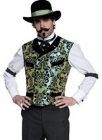 Costume occidental Gambler Déguisement de cow-boy