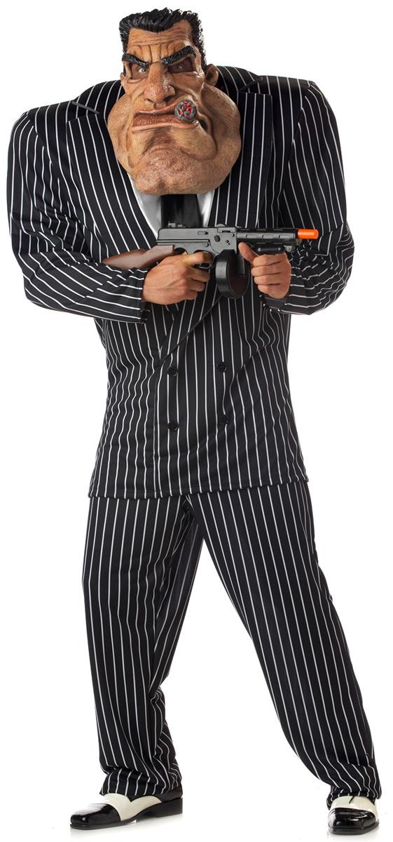 Costume de Gangster Costume Gangster mafieux massive
