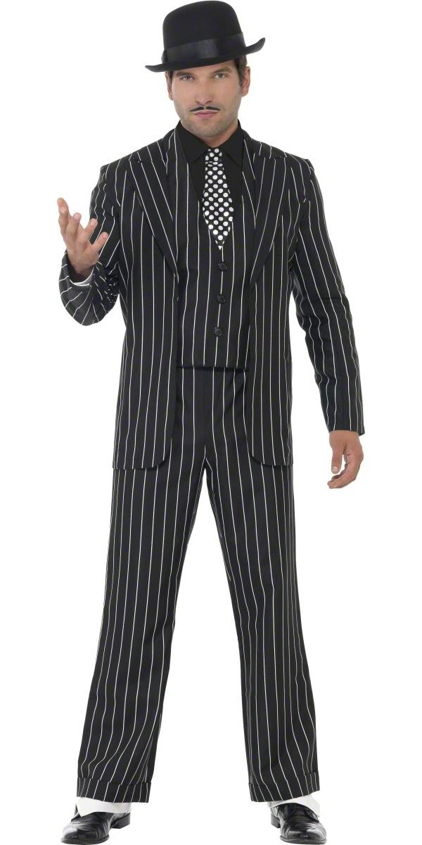 Costume de Gangster Gangster Vintage Costume Boss