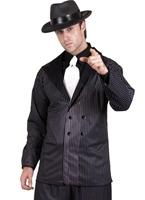 Gangsters costume noir et blanc Costume de Gangster