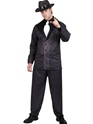 Costume de Gangster Gangsters costume noir et blanc