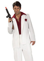 Costume de Scarface Tony Montana Costume de Gangster