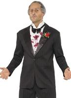Parrain de luxe costume Costume Costume de Gangster