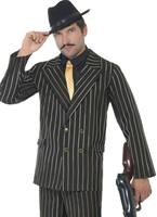 Costume Gangster Pinstripe or Costume de Gangster