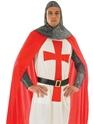 Déguisement médiéval Costume chevalier croisé