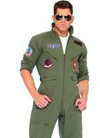 Combinaison de vol de Top Gun Costume pilote