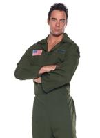 Armée de l'Air Deluxe Jumpsuit Costume Costume pilote
