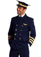 Costume pilote capitaines Costume pilote