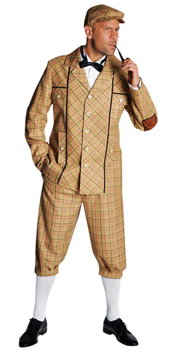 costume deluxe sherlock holmes d guisement policier d guisement homme 16 07 2018. Black Bedroom Furniture Sets. Home Design Ideas