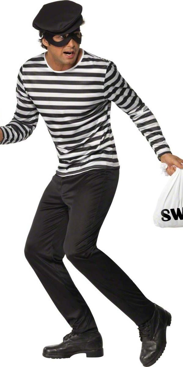 Déguisement Policier Costume de voleur de banque