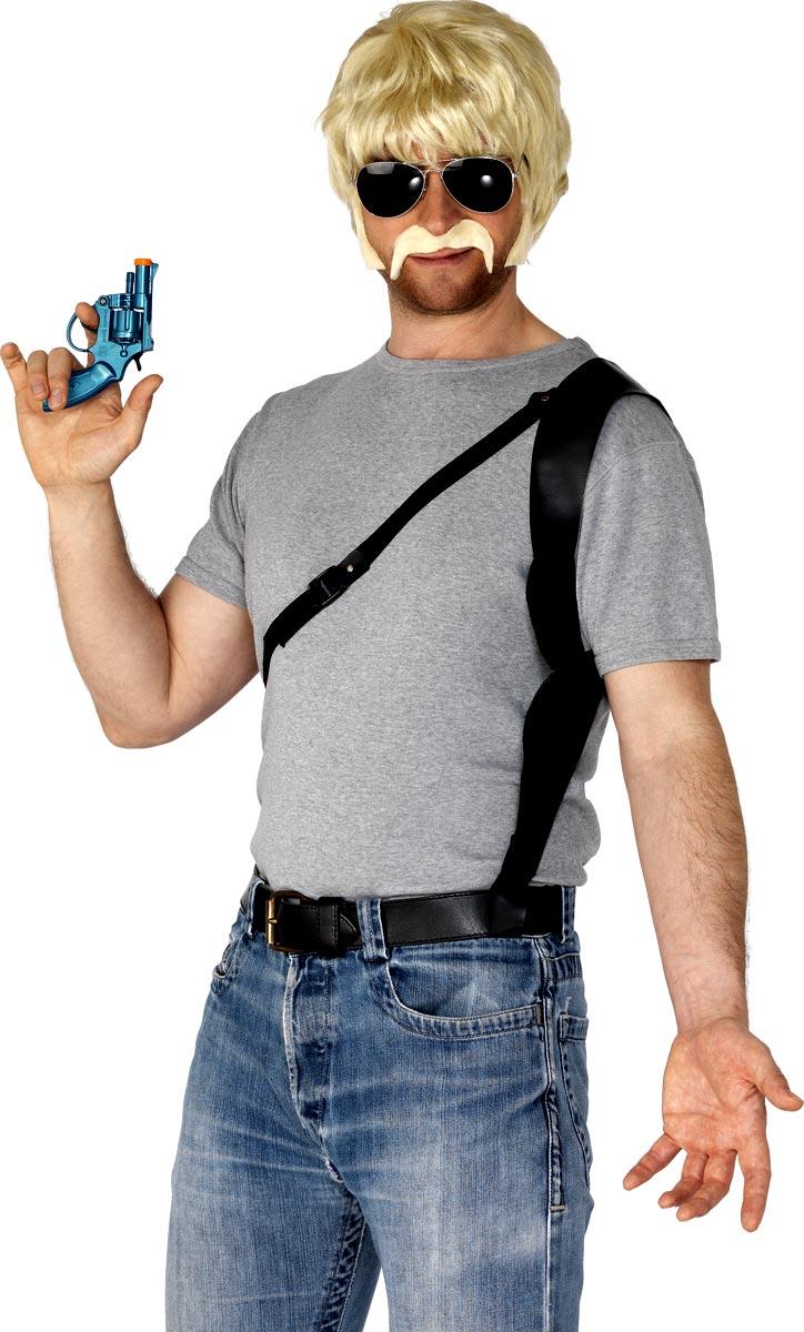 Déguisement Policier 70 s cop Kit (Blonde)