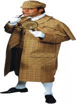 Costume Deluxe Sherlock Holmes Déguisement Policier