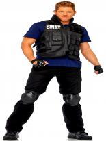 Costume commandant SWAT Déguisement Policier