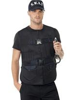 SWAT Man Kit instantanée Déguisement Policier