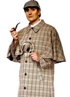 Costume de Sherlock Holmes Déguisement Policier