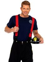 Costume capitaine de feu Costume de pompier