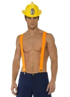 Costume de pompier mâle de fièvre Costume de pompier
