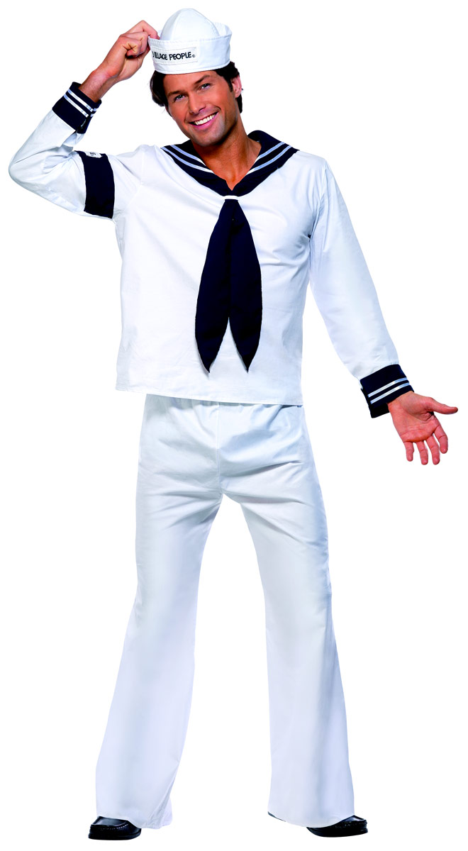 Deguisement Village People Village People Costume marine