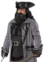 Barbe Noire Costume grande taille  Déguisement Grande Taille