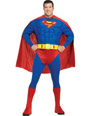 Déguisement Grande Taille Superman Deluxe Muscle poitrine Costume grande taille