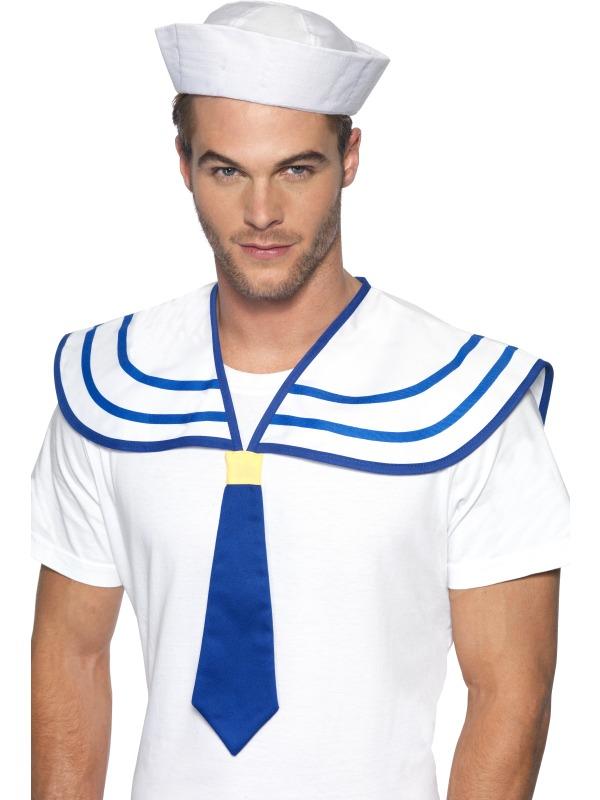 Costumes de marin Kit instantané Sailor cou cravate et collier