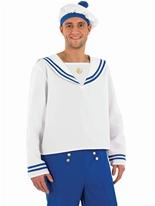 Costume marin mâle bleu Costumes de marin
