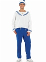 Costumes de marin Costume marin mâle bleu