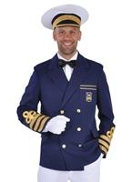 Les capitaines de vaisseau Deluxe veste Costumes de marin