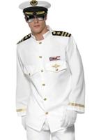 Costume de capitaine de la marine Mens Deluxe Costumes de marin