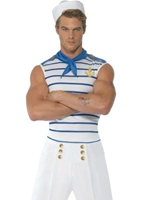 Marin français mâle de fièvre Costumes de marin