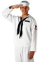 Sailor blanc Costume Costumes de marin