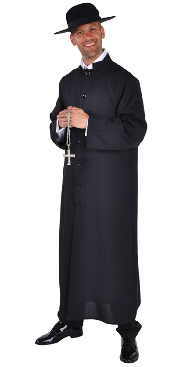 Costume Curé Costume de prêtre Deluxe