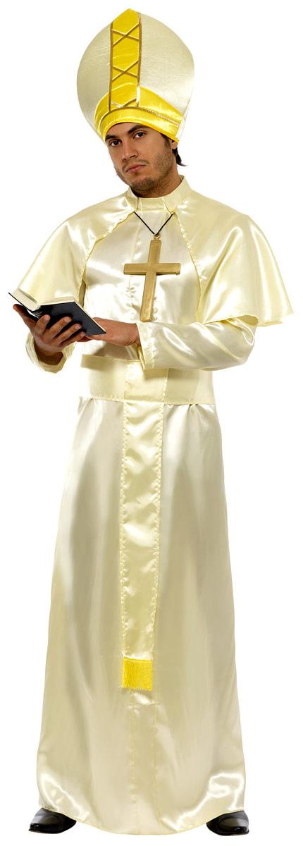 Costume Curé Costume de pape