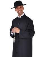 Costume de prêtre Deluxe Costume Curé