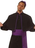 Cardinal Costume noir Costume Curé