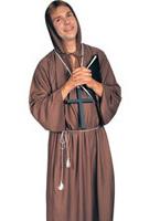 Costume de moine marron Costume Curé