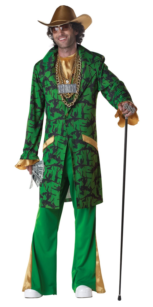 Déguisement proxénète Costume de Pimpin ' Da Ho
