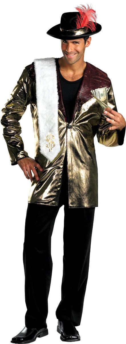 Déguisement proxénète 70 ' s Big Daddy joueur Costume proxénète