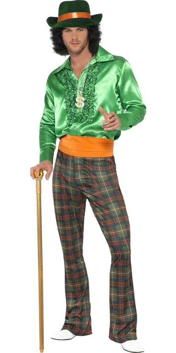 Déguisement proxénète Costume décontracté Mens proxénète