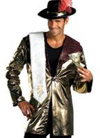 70 ' s Big Daddy joueur Costume proxénète Déguisement proxénète