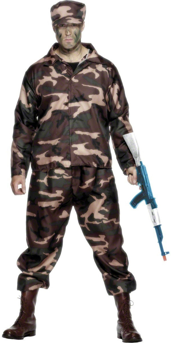 Costumes de soldat Costume de soldat d'armée