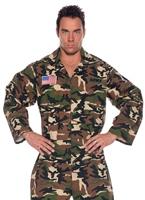 Armée Jumpsuit Costume Costumes de soldat