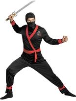 Costume de Ninja Master Deluxe Costumes de soldat