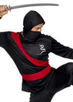 Costume de Ninja Warrior Costumes de soldat