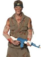 Sergent de peloton Elias Costume Costumes de soldat